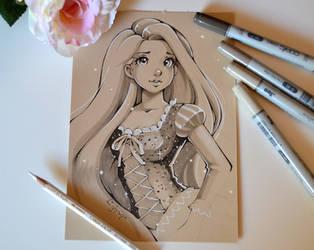 Rapunzel by Lighane