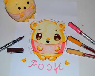 Winnie-the-Pooh - Karin Marker Test by Lighane