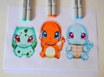 Kawaii Starter Pokemon!