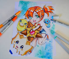 Misty And Her Water Friends! by Lighane