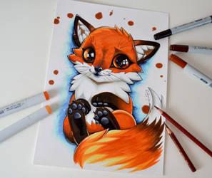 Fox Cub by Lighane