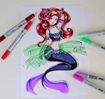 Dark Magical Girl Ariel
