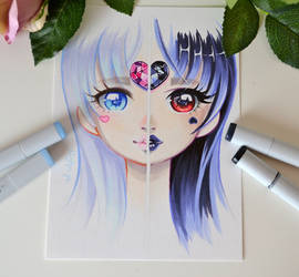 Narcissists - Demons with lovely Masks by Lighane