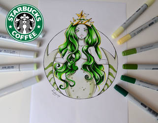 Starbucks Girl by Lighane