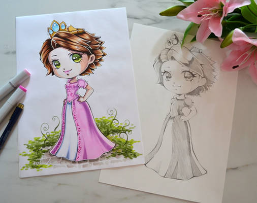 Tangled's Disney Princess Rapunzel