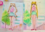 Sailor Moon Redraw (3/5): Usagi Tsukino