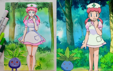 Pokemon Anime Redraw #1