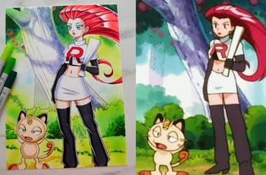 Pokemon Anime Redraw #3
