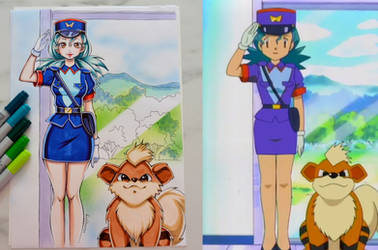 Pokemon Anime Redraw #4