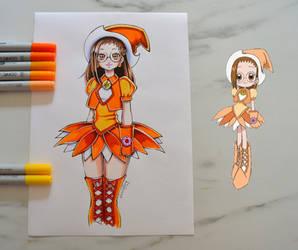 Hazuki from Magical Doremi