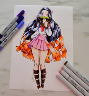 School Girl Nezuko