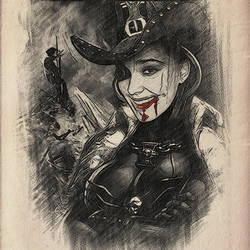 Inquisitor Juliana Maus (Warhammer 40000) by Rokatinsky