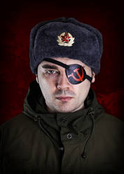 Angry soviet man by Rokatinsky