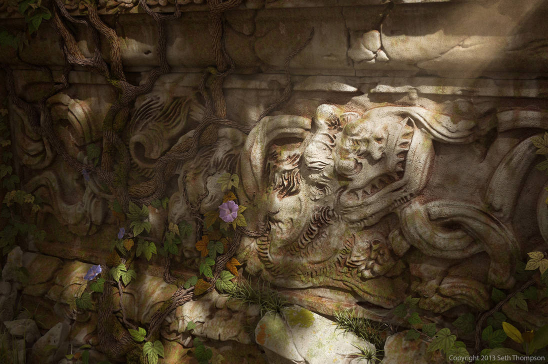 Dragon Wall by Bokuchan1000