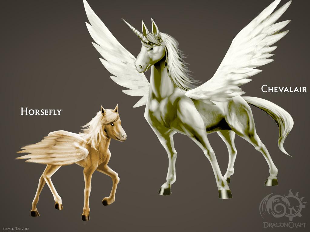 DragonCraft Pegasus by emummy