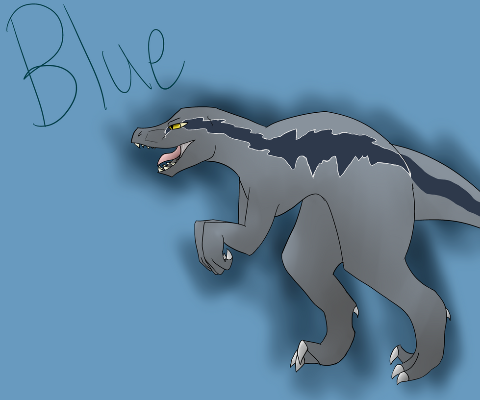Clever Girl Blue: .:That Clever Girl:. By Mackie0607 On DeviantArt