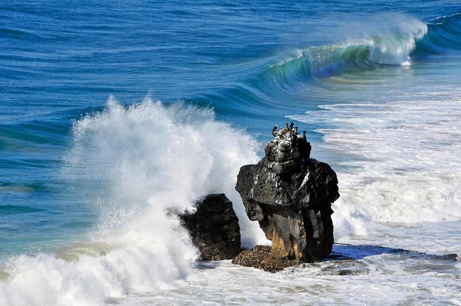 Lennox Hds. coastline by argopete
