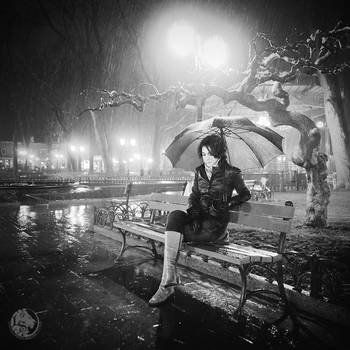 Sitting in the Rain by Pr3t3nd3r