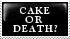 CAKE OR DEATH??? by theBIZARREone