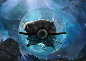 Poke fish black by Avendesor
