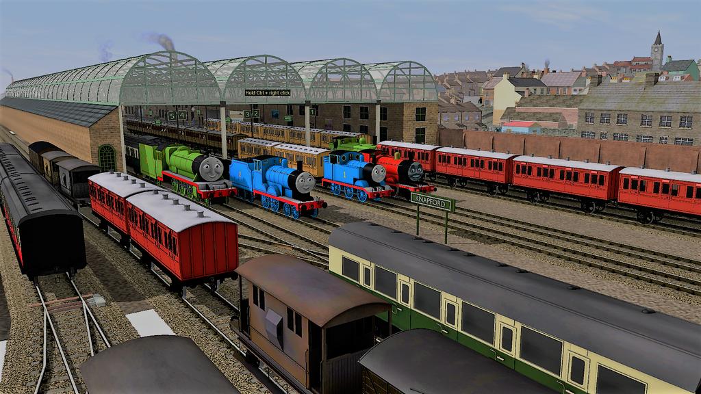 Trainz Thomas Station