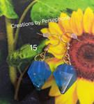 Resin Gem Earrings #gems #earrings