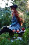 Eva with apples I