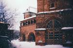 Old snowy street III
