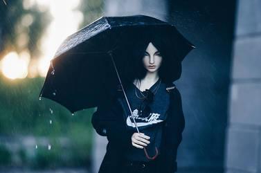 summer rain III by AzureFantoccini