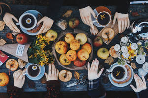 Autumn tea party I