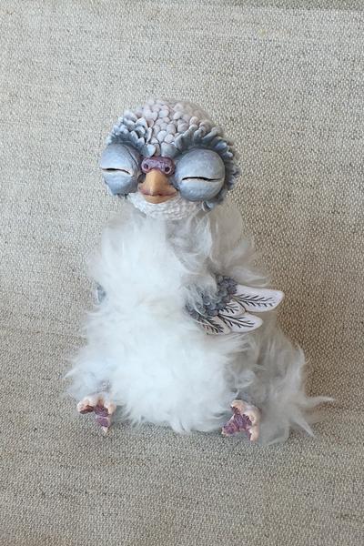 Sleepy owly by Ermellin