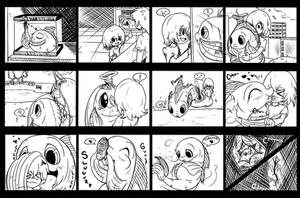 Quicky Comicz - Fish Lips by TheGamerDracul