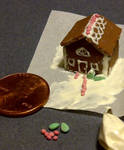 CE: Gingerbread House by Adekkah