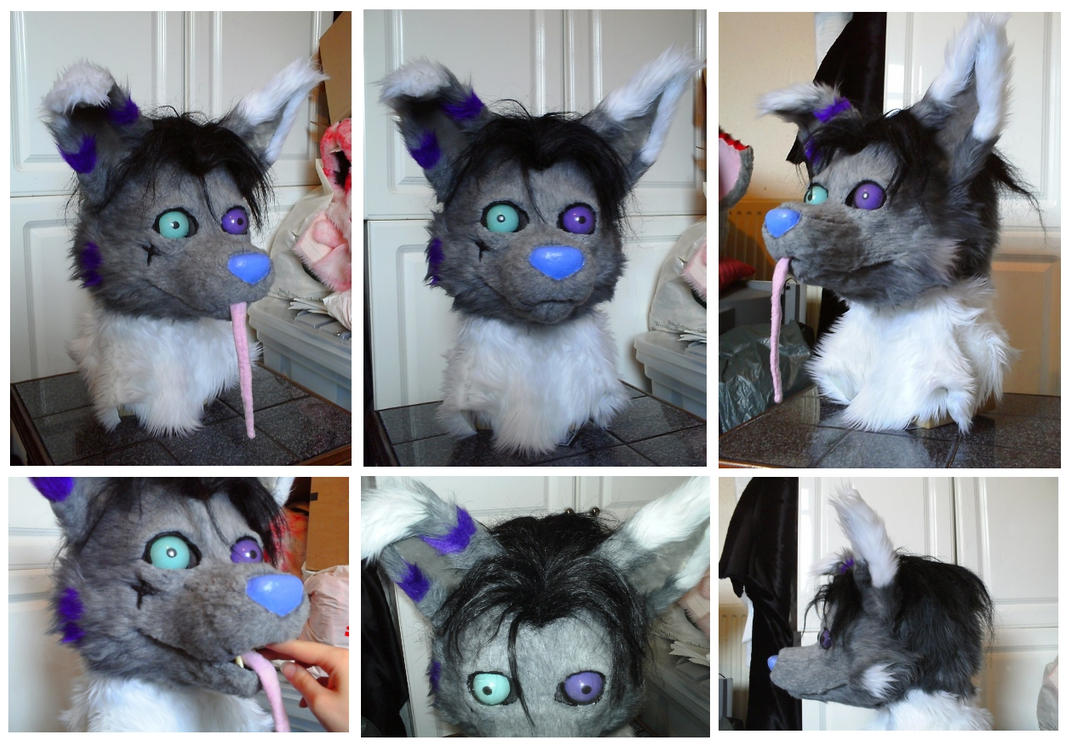 'Dim' Fursuit Head by CuriousCreatures