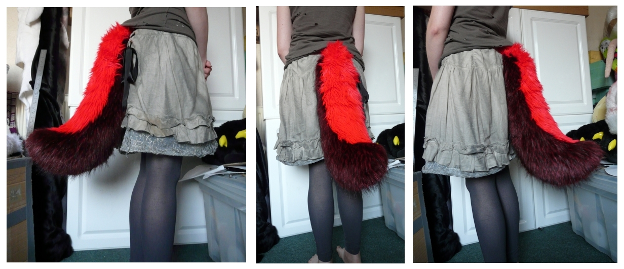 Demon Wolf Tail by CuriousCreatures