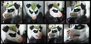 Neonpossum Head