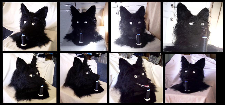 Darkfox Mask by CuriousCreatures