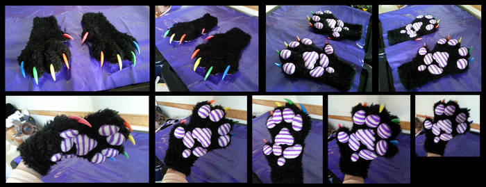 Feral Pickle Handpaws by CuriousCreatures