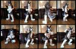 Weazy Wolf Fursuit