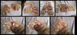 Fawkes Handpaws by CuriousCreatures
