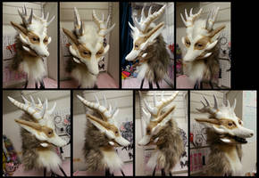 Fawkes Fursuit Head by CuriousCreatures
