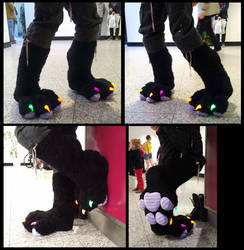 Pickle Feet 2.0 - New Footpaw Style by CuriousCreatures