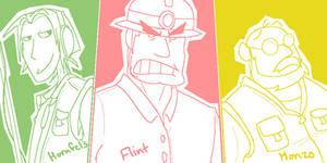 Gijinkas - Flint's Crew