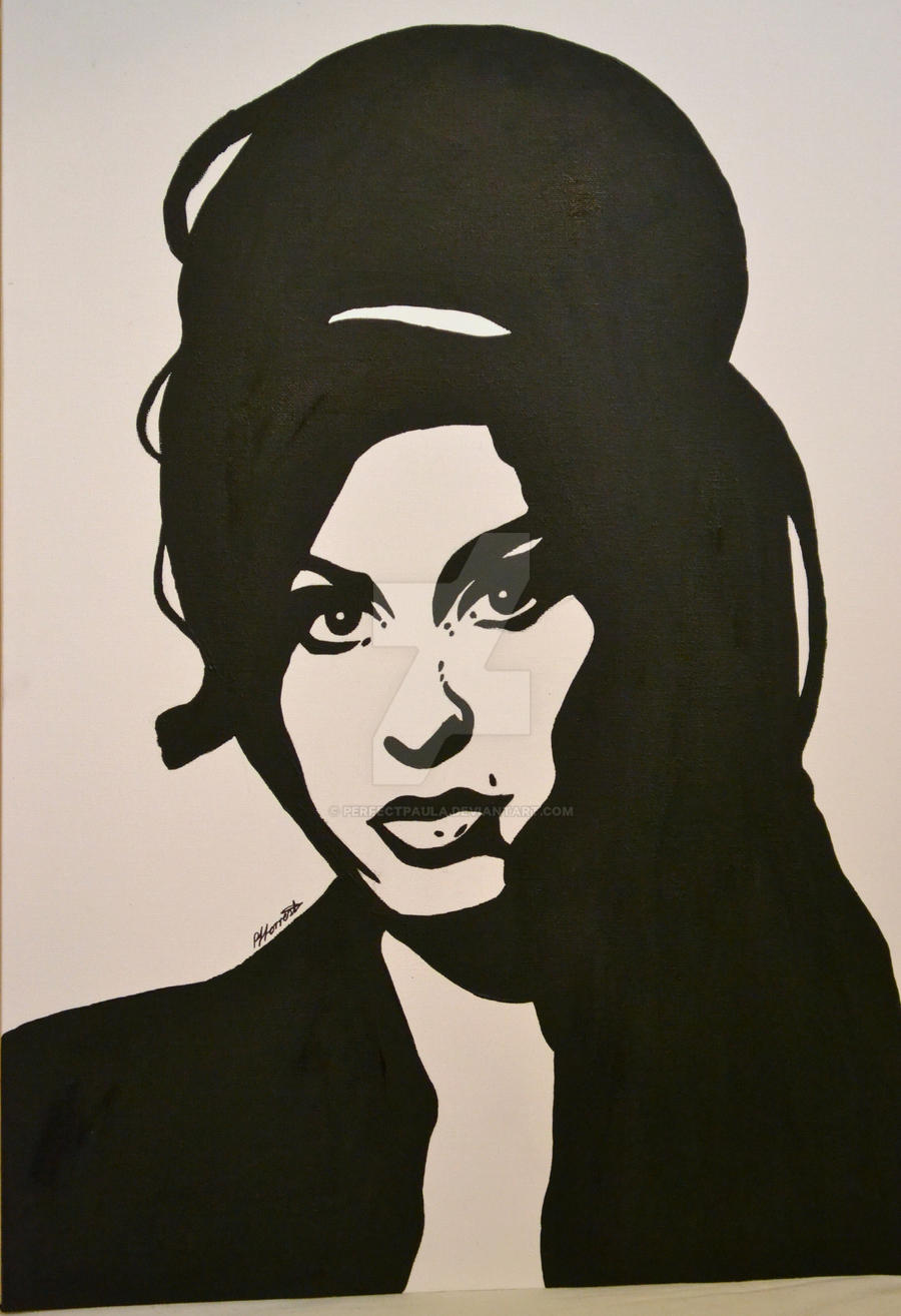 Amy Winehouse Pop Art Canvas by PerfectPaula on DeviantArt