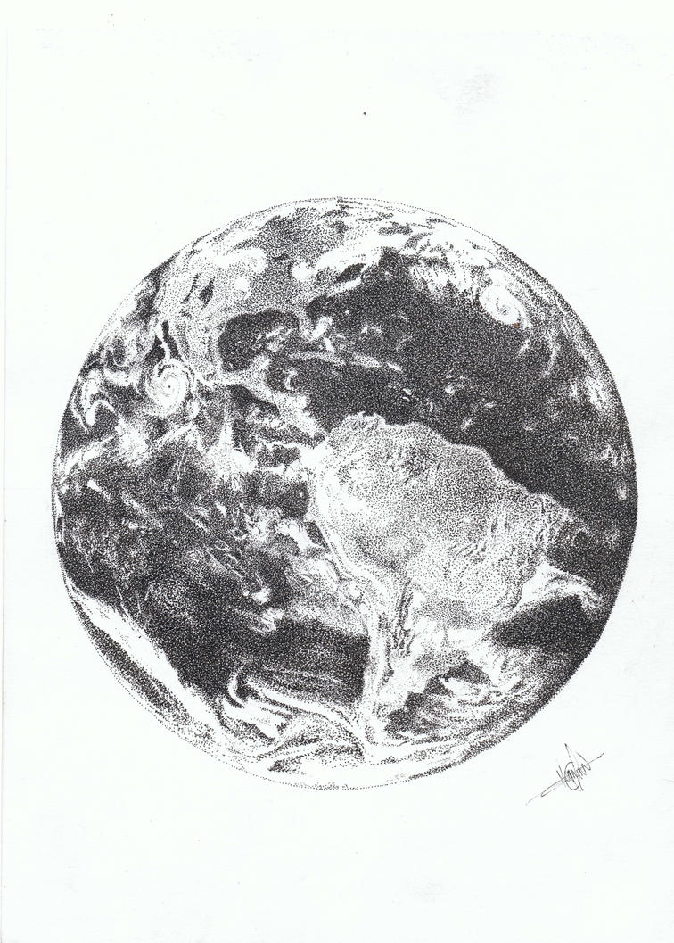 EARTH by nathanmagnin