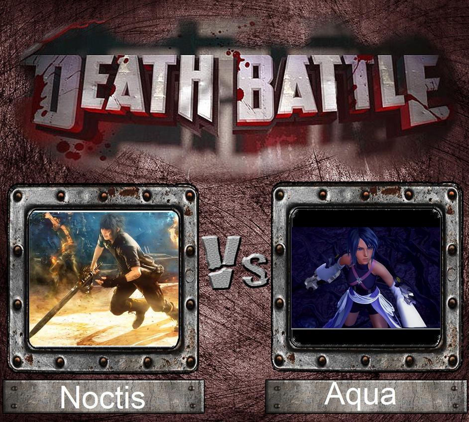 Death Battle - Master Aqua vs Prince Noctis by spartan1994