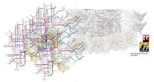 Emipre Union subway map 2021