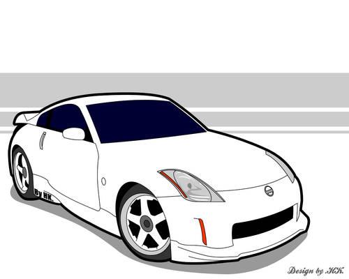 Vector Nissan 350Z