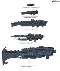 Universe Staeus: Stahlvelkan Warships Aesthetic by MrImperatorRoma