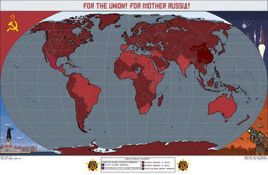 The Soviet Empire by MrImperatorRoma